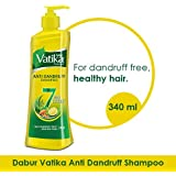 Vatika Anti Dandruff Shampoo, 340ml