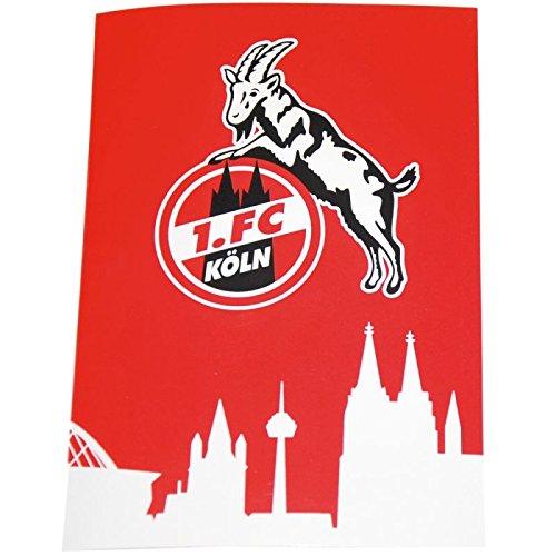1.FC Köln Geschenkkarte Karte Mit Sound