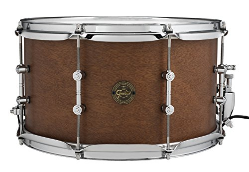 Gretsch Drums Full Range S1-0814SD-MAH 8×14″ The Swamp Dawg Snare Drum, Satin Natural