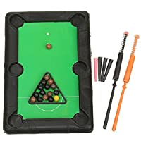 ADAALEN Plastic Mini Billardkugel Tabletop Pool Table Desktop Ball Club Kids...
