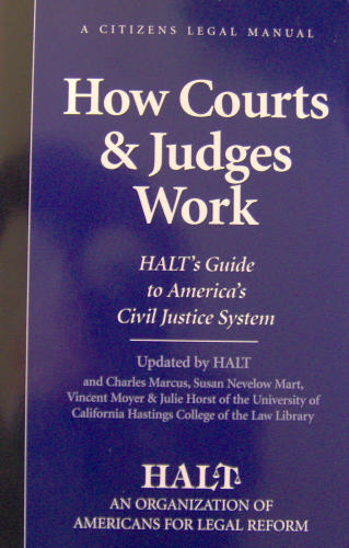 Download How Courts and Judges Work: Halt's Guide to America's Civil Justice System pdf epub