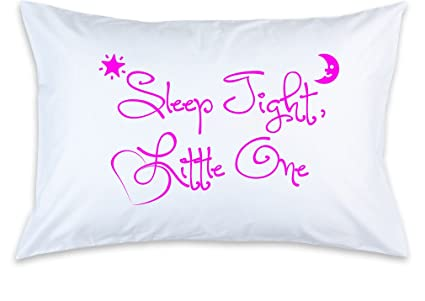 Amazon.com: Funda de almohada de los niños, Sleep Tight ...
