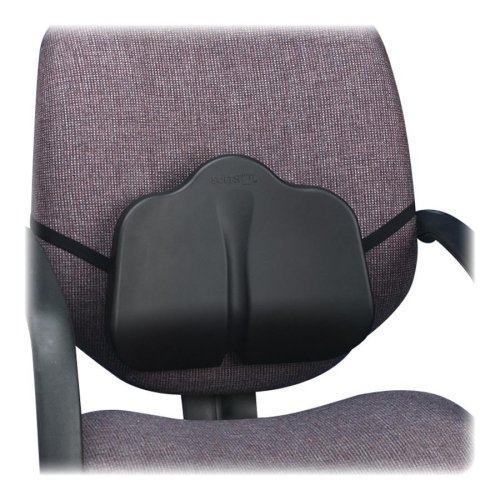 Wholesale CASE of 5 - Safco SoftSpot Seat Cushions-Backrest, Low Profile, Washable, 14''x2-1/2''x11'', Black by SAF