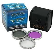 Rokinon FK37 37mm Filter Kit, UV - PL - FLD, 3 Piece