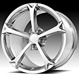 OE CREATIONS PR130 Wheel with Chrome and Chromium (hexavalent compounds) (18 x 8.5 inches /5 x 70 mm, 56 mm Offset)