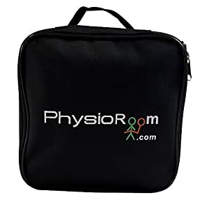 PhysioRoom Mini Kit de primeros auxilios - coche, viaje, deportes, bolso médico (vacío), compacto, prueba de la ducha, fuentes médicas, fácil limpiar, días de fiesta, coche, bolso de deportes, kit de tratamiento, contenido no incluido