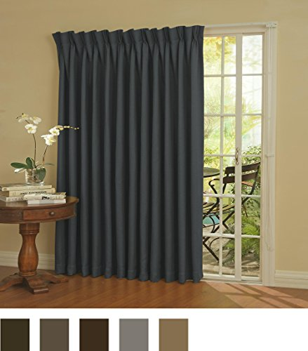 Eclipse Thermal Blackout Patio Door Curtain Panel 100