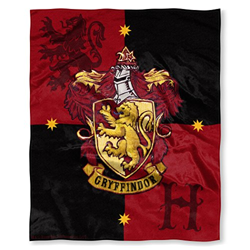 Northwest Harry Potter House Crests Silk Touch Throw 50