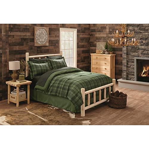 CASTLECREEK Cedar Log Bed, Queen (For Furniture Cedar)