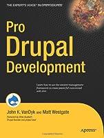 Pro Drupal Development Front Cover