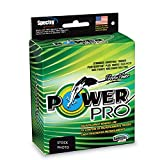 Power Pro Spectra Fiber Braided Fishing Line, Hi-Vis Yellow, 150YD/8LB