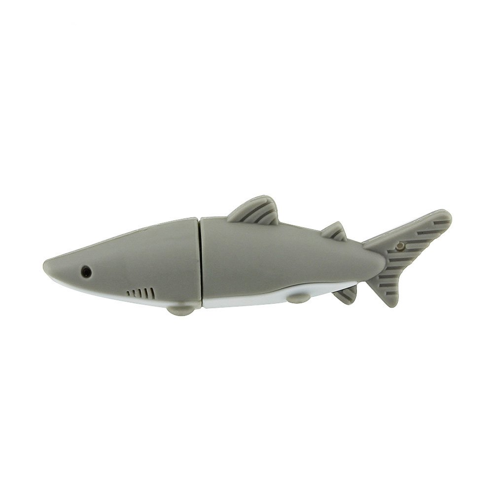 amazon com 32gb 32g cartoon animal shark fish shape gift usb