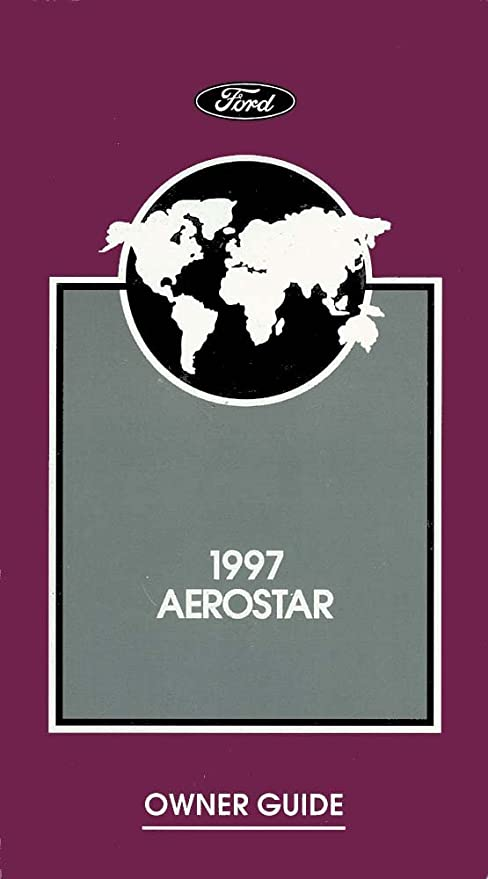 1997 ford aerostar owners manual