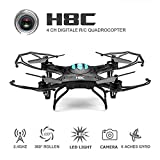 EACHINE H8C Quadcopter Drone with 2MP HD Camera Droni Radiocomandati Quadricottero Con Telecamera RTF Modalità 2(Nero)