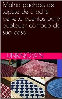 Amazon.com: Malha padrões de tapete de crochê – perfeito