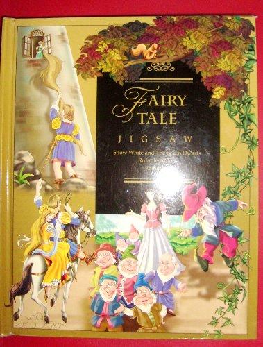Fairy Tale Jigsaw (*6 fairy tale puzzles - each page is a puzzle.) - Fairy Tale Jigsaw Puzzle Book