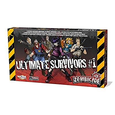 Zombicide Box of Zombies 1 Ultimate Survivors Board Game: Toys & Games