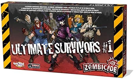 Edge Entertainment - Ultimate Survivors 1, expansión para Zombicide (ZG70): Amazon.es: Juguetes y juegos