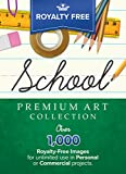 Royalty-Free Premium School Image Collection: Top-Quality ClipArt To Make Your Scrapbook Designs, Invitations and Other Projects SPARKLE!! (for PC) [Download]