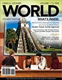WORLD, Volume 1 (with Review Cards and History CourseMate with eBook, Wadsworth World History Resource Center 2-Semester Printed Access Card) (Available Titles CourseMate) 1st Edition