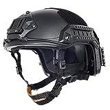 Lancer Tactical CA-806B Maritime ABS Helmet Color: Black, Size: Large to X-Large