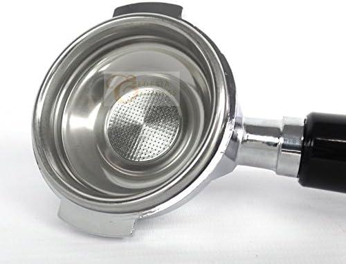 Portafiltros con mango - Para cafeteras exprés LELIT 58mm - Canasta de 7 g con 1 salida: Amazon.es: Grandes electrodomésticos