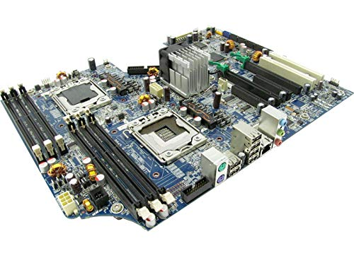 HP Z600 Dual LGA1366 System Board 461439-001 460840-002 (Certified Refurbished)