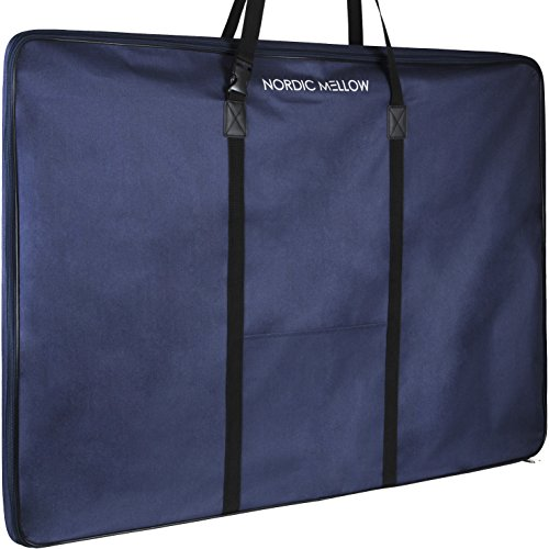 Nordic Mellow Art Portfolio - Swedish Soft-Sided Portfolio for Artwork with Shoulder Strap (24 x 36 Inches)