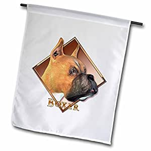 fl_52428_1 Boehm Graphics Dog - Boxer Dog - Flags - 12 x 18 inch Garden Flag
