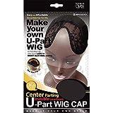 (6 Pack) Qfitt - Center Parting U-Part Wig Cap with Lace #5015