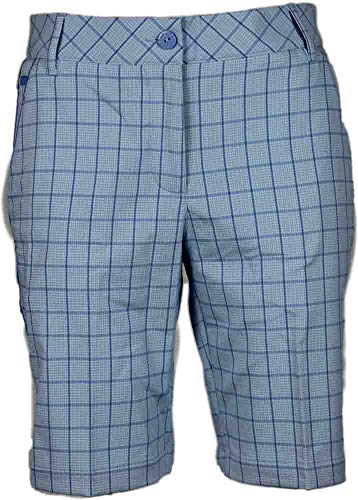 Puma Golf Women's Us Pattern Tech Bermuda Shorts, Omphalodes/Ultramarine, 6 ()