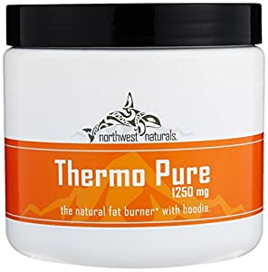 Thermo Pure - The Natural Fat Burner and Pre Workout Thermogenic, Naturally Flavored Proven Weight Loss Powder With Hoodia, Grape, 30 Servings