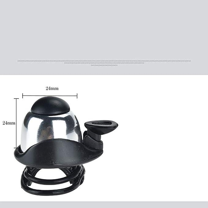 SMILEQ Patinete eléctrico Skateboard Horn Bell para Xiaomi ...