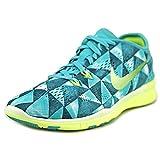 Nike Free 5.0 TR Fit 5 Prt Women US 8.5 Blue Cross Training