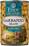 Eden Garbanzo Beans - 15 oz - 12 Pack