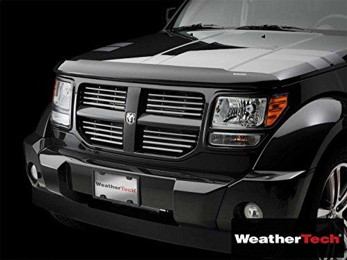 Weathertech (WEA103855-HR) Stone And Bug Deflector Visor Rainguard Dark Smoke - fits Subaru Outback - 2010 2011 2012 2013 2014 | 10 11 12 13 14 ()