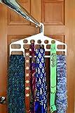 Smart Design Hanging Scarf Organizer w/ 14