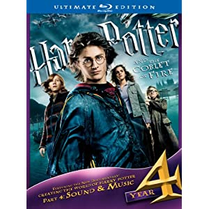 Harry Potter and the Goblet of Fire (Three-Disc Ultimate Edition) [Blu-ray] (2005)