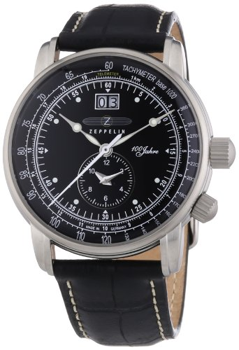 Graf Zeppelin Big Date, Dual Time Watch 7640-2