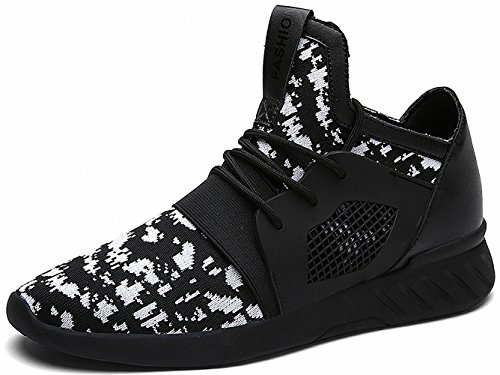 Ben Sports Herren Sneaker Trail Turnschuhe Laufschuhe für Herren D-Weiß