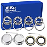 XiKe 2 Set Fits for 1-1/16'' Axles Trailer Wheel
