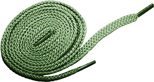 "Shoeslulu 35"" Premium Oxfords Chukka Desert Boot Flat Canvas Shoelaces (35.5 in. (90 cm), Sage Green)"