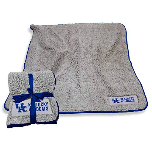 Logo Kentucky Wildcats NCAA Frosty Fleece 60 X 50 Blanket - Team Color
