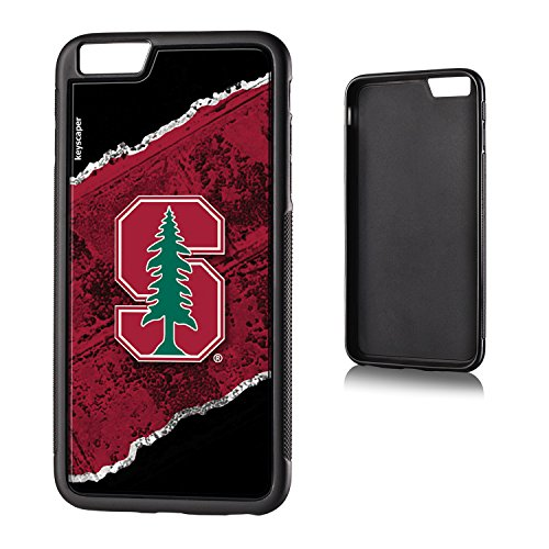 Stanford Cardinal iPhone 6 Plus & iPhone 6s Bumper Case officially licensed by Stanford University for the Apple iPhone 6 Plus by keyscaper® Flexible Full Coverage Low - Stores Stanford