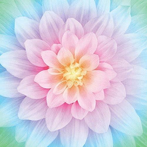 [해외]Hoffman Digital Spectrum Dream Big Flower Bloom Panel Opal / Hoffman Digital Spectrum Dream Big Flower Bloom Panel Opal