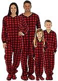 SleepytimePjs Family Matching Fleece Onesie, Womens (STM17-PLA-W-CAN-MED)