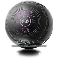 Drakes Pride Professional bowls - Black, Size 4, Heavy