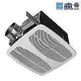 exhaust fan cfm - BV Ultra-Quiet 140 CFM, 1.5 Sones Bathroom Ventilation & Exhaust Fan
