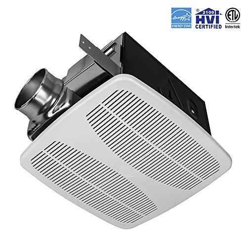 BV Ultra-Quiet 140 CFM, 1.5 Sones Bathroom Ventilation & Exhaust Fan