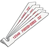 PORTER-CABLE 12349-5 3-Inch 24 TPI Metal Cutting Hook-Shank Bayonet Saw Blade (5-Pack)